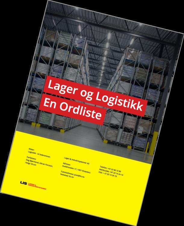 Lager og logistikk En ordliste